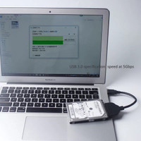 USB 3.0 to Serial ATA 22pin Converter Cable Hard Disk for 2.5 HDD/SSD
