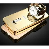 ASUS Zenfone GO 2016 B ZB452KG Bumper Mirror Sliding Metal Back Case