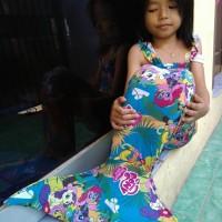 Baju putri duyung/mermaid kuda poni