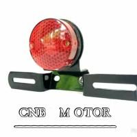 Lampu Stop / Stoplamp Jap Style Bulat