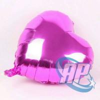 balon foil hati pink fanta / balon foil love pink / balon hati / love