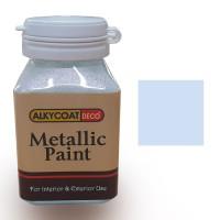 Alkycoat Deco Metallic Paint Cat Dekoratif Metalik 100g G873 (Silver)