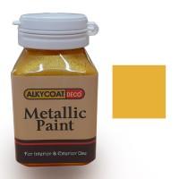 Alkycoat Deco Metallic Paint Cat Dekoratif Metalik 100g - G872 (Gold)