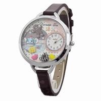 Mini miniature clay watch 3D korea MWE 863 Terbaru