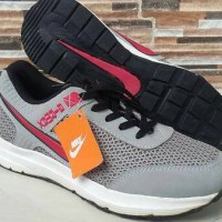 Nike Casual Shoes - Grey Red