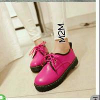 SPECIAL sepatu docmart pink m2m wanita cantik TERLARIS