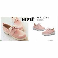 SPECIAL sepatu docmart pink m2m murah PALING MURAH