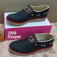 SPECIAL sepatu docmart denim cewe murah TERLARIS
