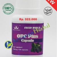 OPC Plus Capsule Asli 100% Original   Produk Green World Berkhasiat