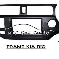 Frame audio Kia Rio / Frame double din kia Rio / Panel Audio kia Rio