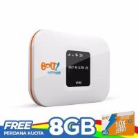 Bolt Modem Wifi 4G LTE Aquila Slim - Putih + 8GB kartu Perdana -White