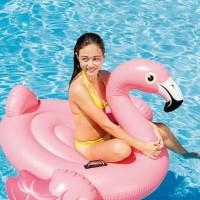 Giant Float Flaminggo Intex Ride-On/Ban Pelampung Flaminggo Intex57558