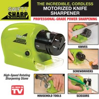 Swifty Sharp Pengasah Pisau gunting otomatis elektrik knife sharpener