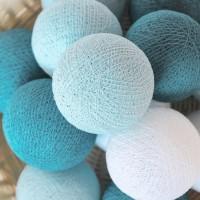 Cotton Ball Light LED - Blue Tone