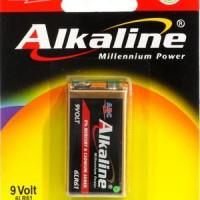 ABC ALKALINE 9V / ABC ALKALINE 9 VOLT / ABC 9VOLT / BATERAI KOTAK 9V