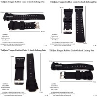 tali jam tangan import rubber cassio gshock