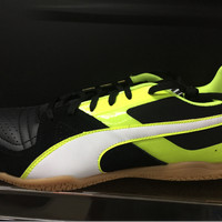 Sepatu futsal puma invicto sala original black stabilo