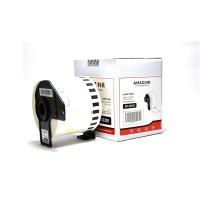 Paper Label Dk-22205 Amazink for PrinterLabel Brother QL-500,700,1050