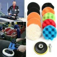 11 Pcs 3 Inch Sponge Waxing/Sponge Poles/Buffing Polishing/Poles Mobil