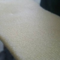 [1 roll] BUSA TRICOT / BUSA LAPIS FURING PUTIH BEKLEDING BAJU( 5 MM )