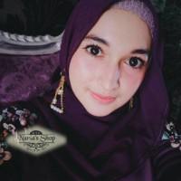 anting hijab earing juntai tassel panjang mutiara jilbab