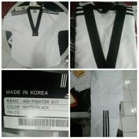 Seragam Baju Dobok Taekwondo Adidas Adi Fighter Original Bkn Moks Kwon