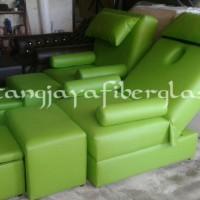 kursi refleksi kayu type RF 003, warna hijau mint green