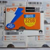 kartu perdana internet bolt 32GB/20GB bukan unlimited bukan juga xl go