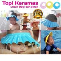 Topi Keramas Anak / Shower Hat / Peralatan Mandi Bayi Dan Anak