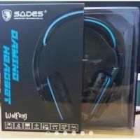 Headset Sades SA - 901 Gaming 7.1ch sound Wolfang / Sades 901 / SA 901