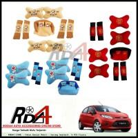 Paket Bantal Mobil - Sarung Seatbelt  9 PCS Fiesta