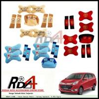 Paket Bantal Mobil - Sarung Seatbelt 9 PCS Sigra