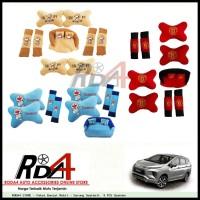 Paket Bantal Mobil - Sarung Seatbelt  9 PCS Xpander