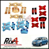 Paket Bantal Mobil - Sarung Seatbelt  9 PCS Ertiga