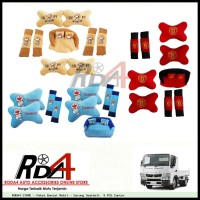 Paket Bantal Mobil - Sarung Seatbelt  9 PCS Canter