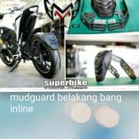 mudguard/pelindung ban belakang aerox, xabre,vixion