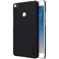 Nillkin Frosted cover case Xiaomi Mi MAX 2 - Hitam - Free Anti gores