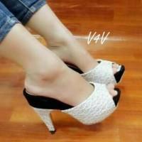 Restock SALE Sepatu Sandal Wanita Wed gamis ikea batik tunik