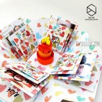 Kado Pop Up Explosion Box Hadiah Unik Pacar Anniversary