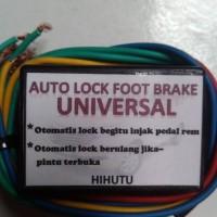 auto lock foot brake universal