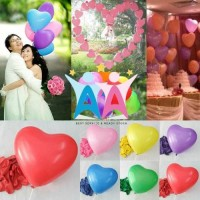 Balon LOVE HATI Latex SUPER Kualitas Tebal Elastis Heart