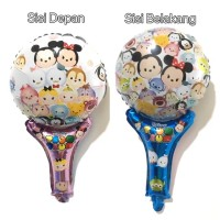 Balon Foil Karakter Pentung / Tongkat Tsum Tsum Disney