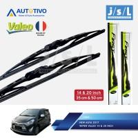New Agya Wiper Mobil Valeo (2 Pcs Kiri Kanan)/Aksesoris Agya
