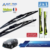 Grand New Avanza/Veloz/Xenia Wiper Mobil Valeo (2 Pcs Kiri Kanan)