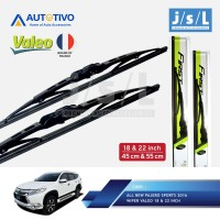 All New Pajero Sport Wiper Mobil Valeo (2 Pcs Kiri Kanan)