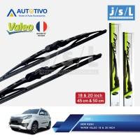 Toyota Rush Wiper Mobil Valeo (2 Pcs Kiri Kanan)