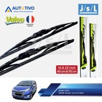 Daihatsu Sigra Wiper Mobil Valeo (2 Pcs Kiri Kanan)/Aksesoris Sigra