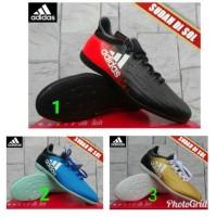 Sepatu Futsal Adidas 11Pro Biru Muda Orange Kw S(Bola,murah,Nike,lari