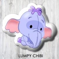 Bantal Boneka Dekorasi Winnie The Pooh - Small Lumpy Chibi