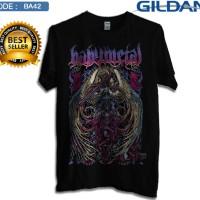 Kaos babymetal band-baju distro baby metal pria dan wanita ba42